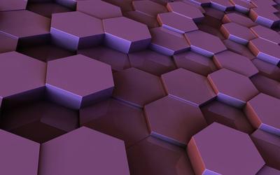 Hexagons [5] wallpaper