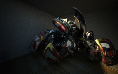 Machine [6] wallpaper