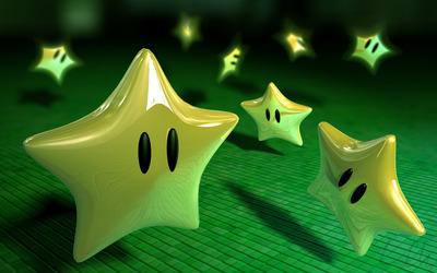 Mario stars wallpaper