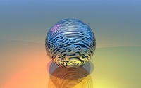 Metallic ball wallpaper 1920x1200 jpg