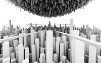 Minimalistic City wallpaper 1920x1200 jpg