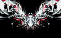 Mirrored Bug wallpaper 1920x1200 jpg