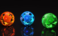Missing pieces from the colorful orbs wallpaper 2560x1440 jpg