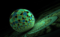 Mosaic sphere wallpaper 2560x1600 jpg