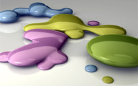 Paint splashes wallpaper 1920x1200 jpg