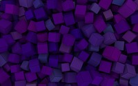 Purple cubes wallpaper 1920x1080 jpg