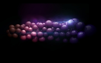 Red and purple balls wallpaper 2560x1600 jpg