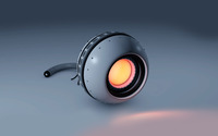 Robot eye wallpaper 2560x1600 jpg