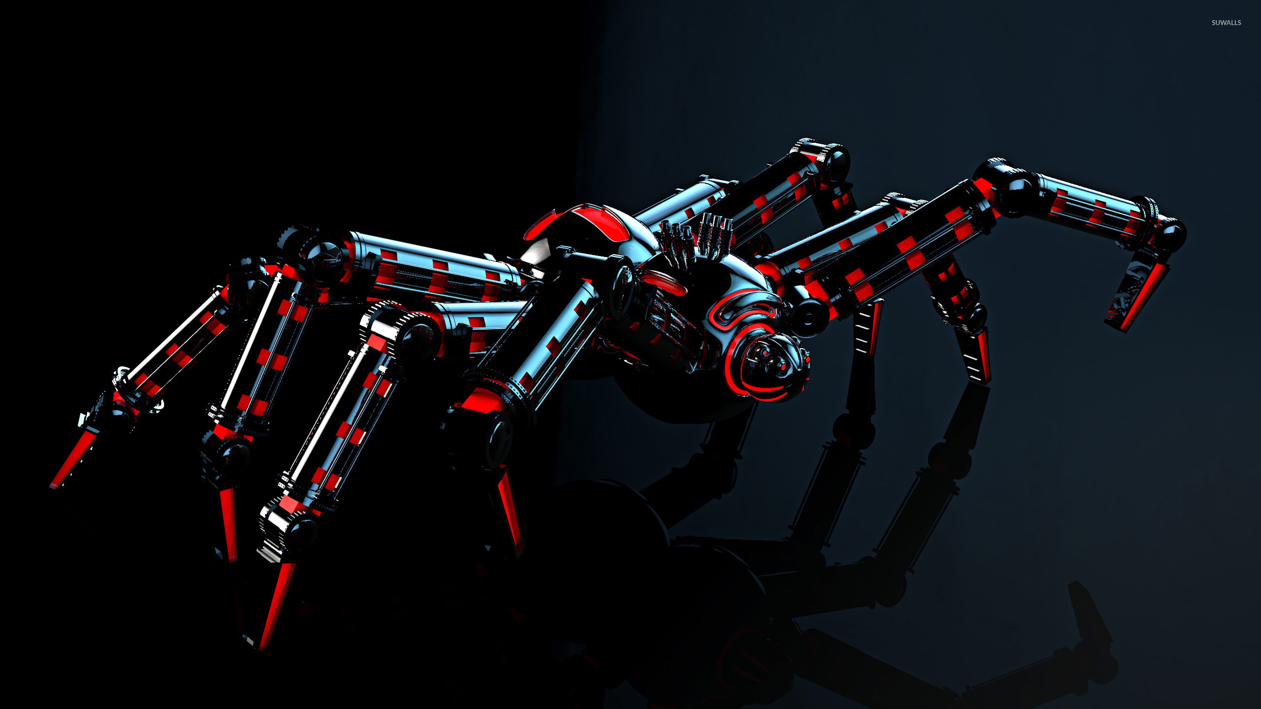 Robot spider wallpaper D wallpapers