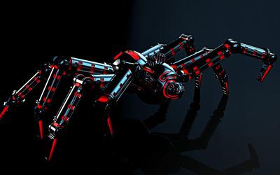 Robot spider wallpaper