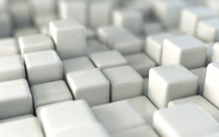 Shiny white cubes wallpaper 1920x1080 jpg