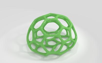 Green shape wallpaper