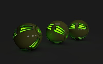 Spheres [15] wallpaper