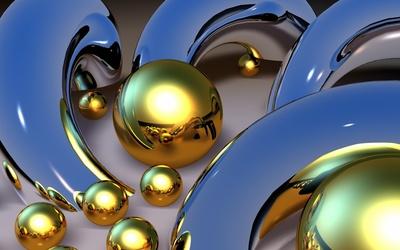 Spheres [9] wallpaper