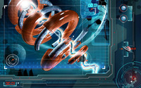 Spiraling laser wallpaper 1920x1200 jpg