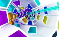 Spiraling shapes wallpaper 1920x1200 jpg