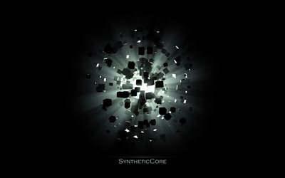 Synthetic core wallpaper