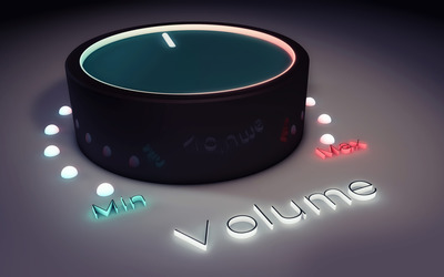 Volume button wallpaper
