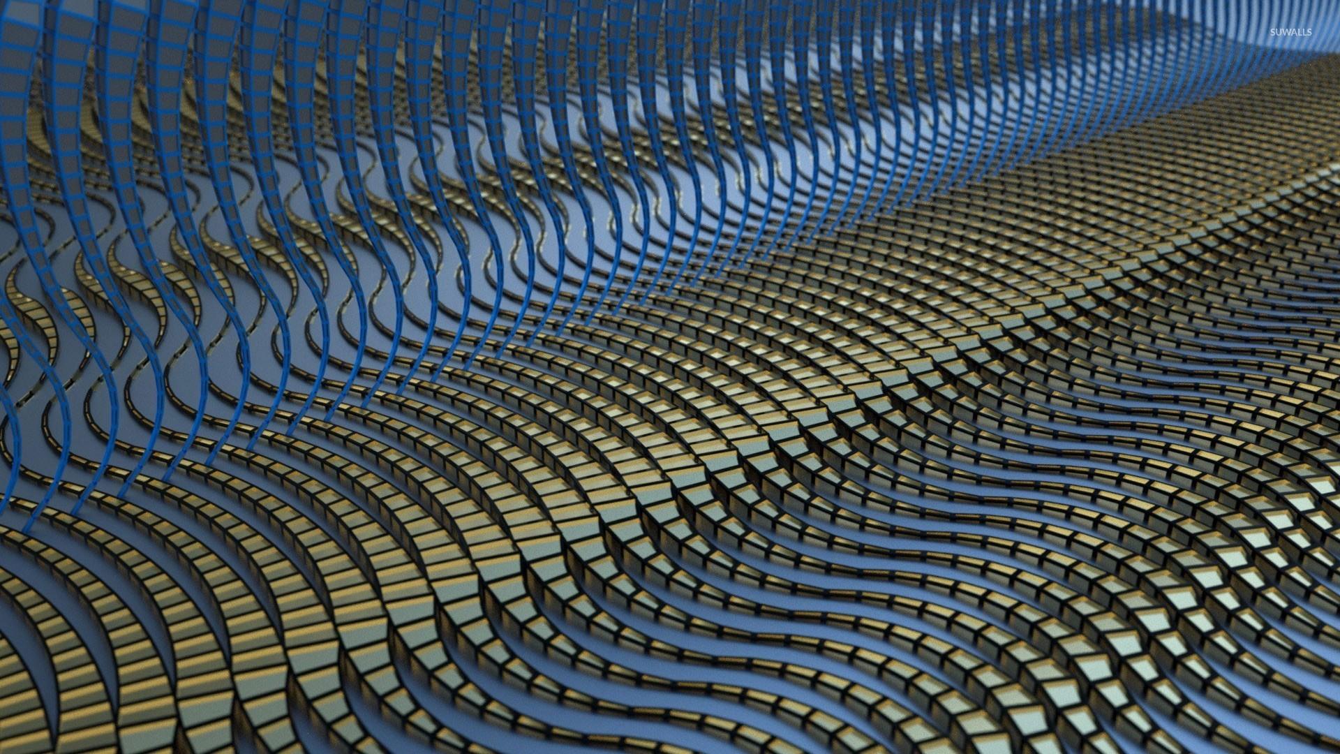Wavy floor wallpaper 3d wallpapers 24587 for Floor 3d wallpaper