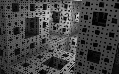 White cubes [2] wallpaper
