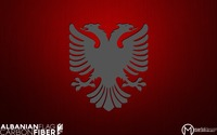 Albanian Flag wallpaper 1920x1200 jpg