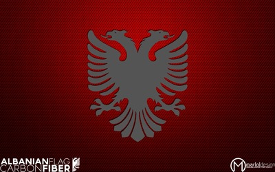 Albanian Flag wallpaper