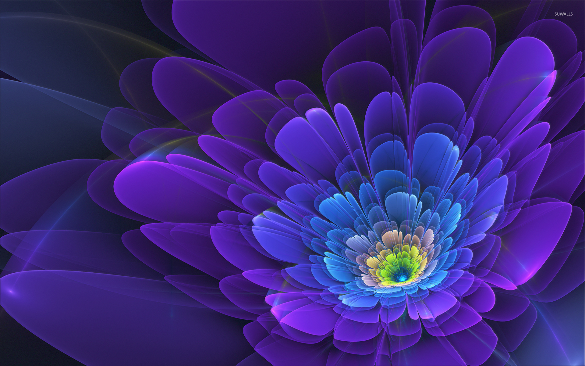 top fractal wallpapers floral - photo #16