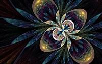 Beauty of a fractal flower wallpaper 1920x1200 jpg