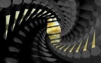 Black and gold spiral wallpaper 1920x1200 jpg