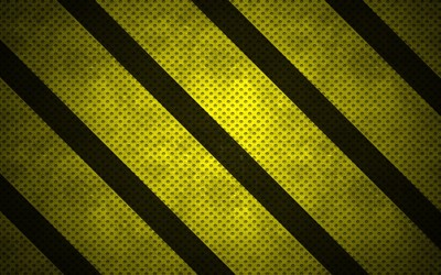Black and green stripes on dotted pattern wallpaper
