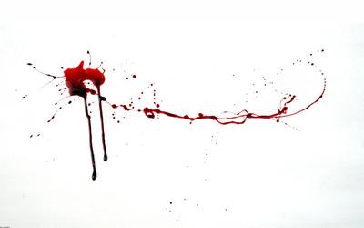 Blood spatter wallpaper