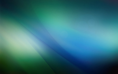 Blue and green curves wallpaper