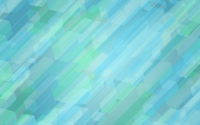 Blue and green geometrical shapes wallpaper