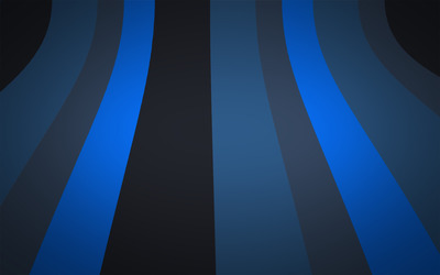 Blue and grey stripes Wallpaper