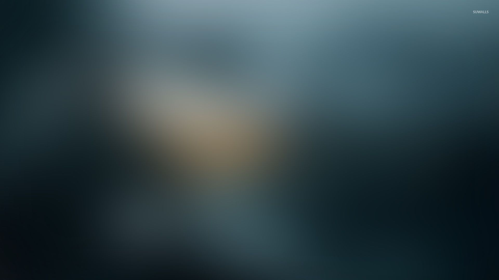Blue blur wallpaper - Abstract wallpapers - #29047