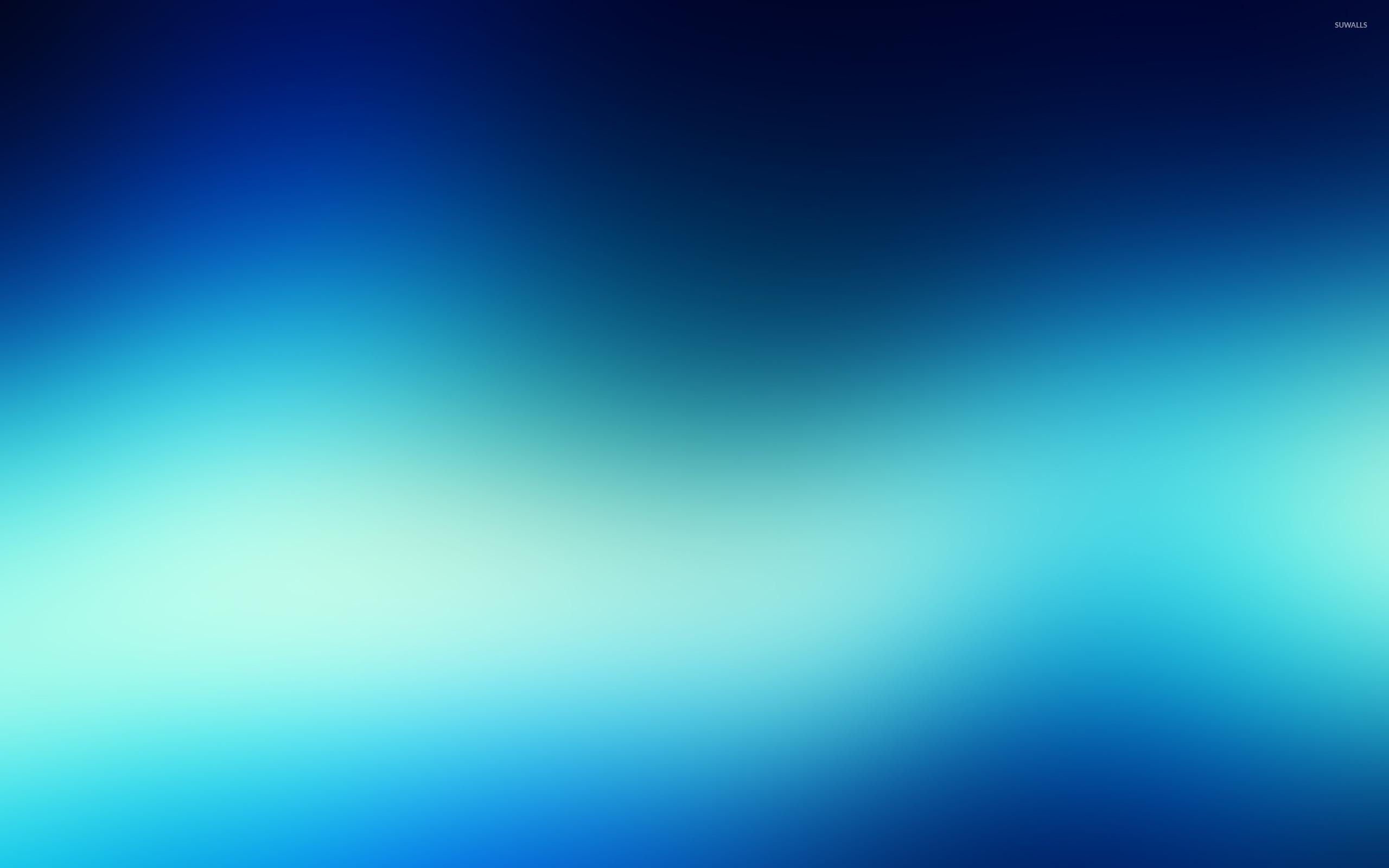 Blue Bright Blur Wallpaper