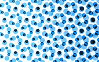 Blue circle pattern wallpaper 2560x1600 jpg