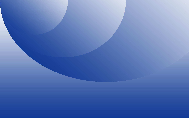 Blue Circles And Curves Wallpaper 2880x1800 Jpg