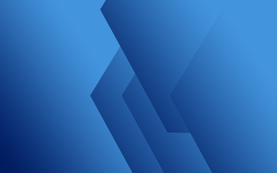 Blue corners wallpaper