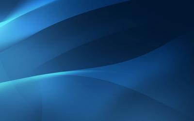 Blue curves [3] wallpaper