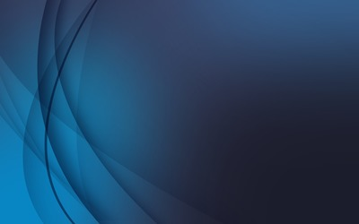 Blue curves wallpaper