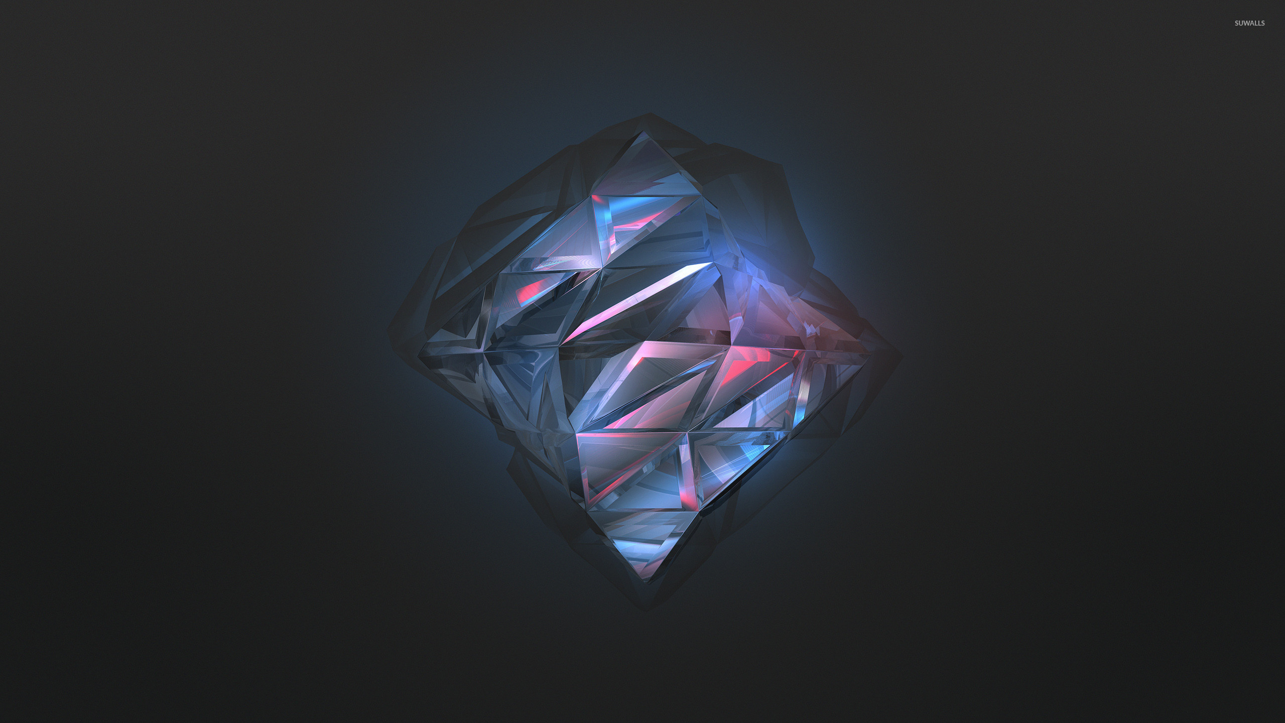 Blue Diamond Wallpaper Abstract Wallpapers 40970