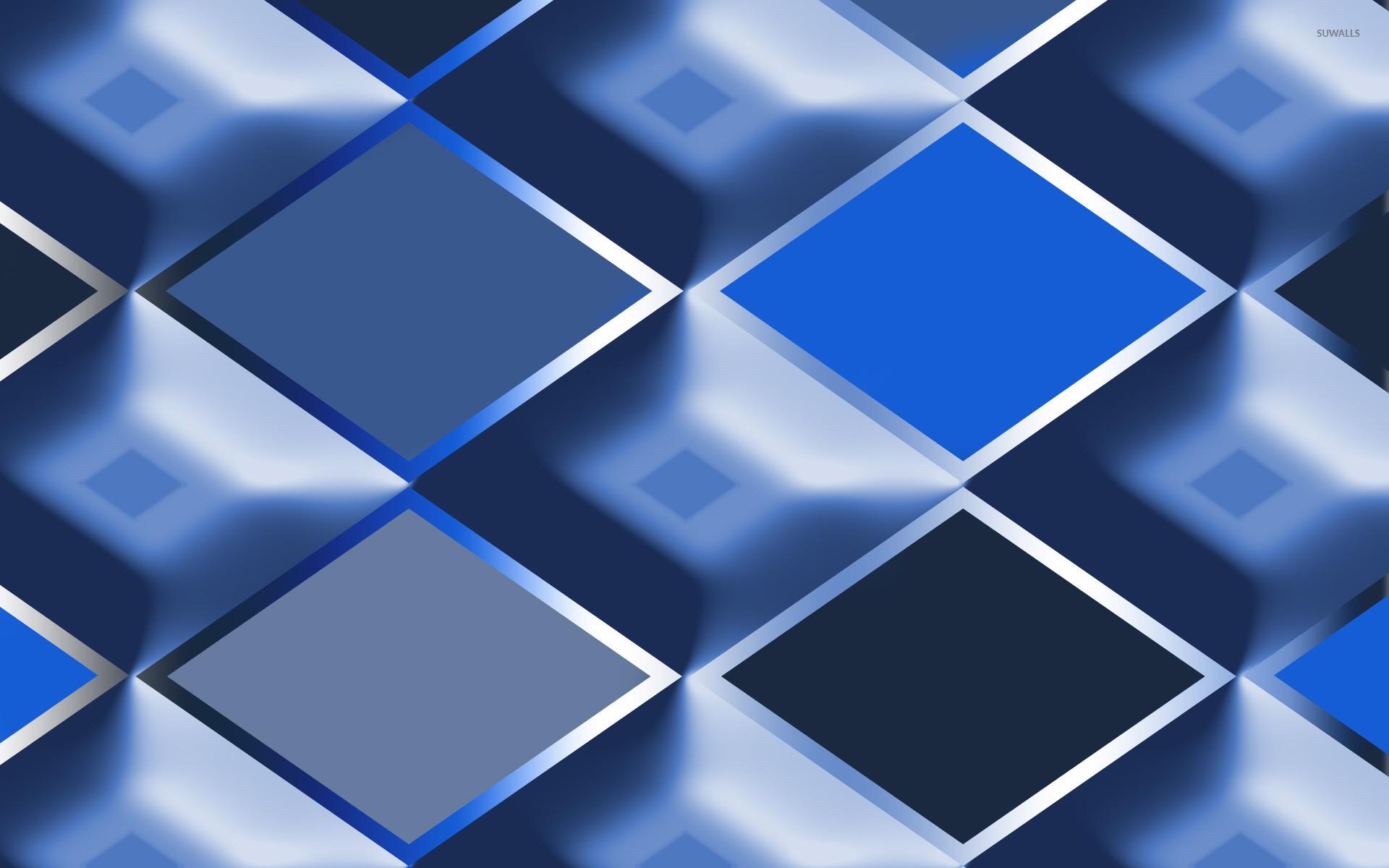 Blue Diamonds Wallpaper Abstract Wallpapers 20094