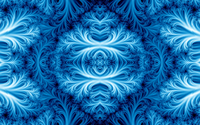 Blue fractal ice wallpaper 1920x1080 jpg
