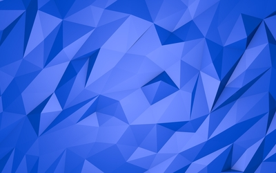 Blue pyramids wallpaper