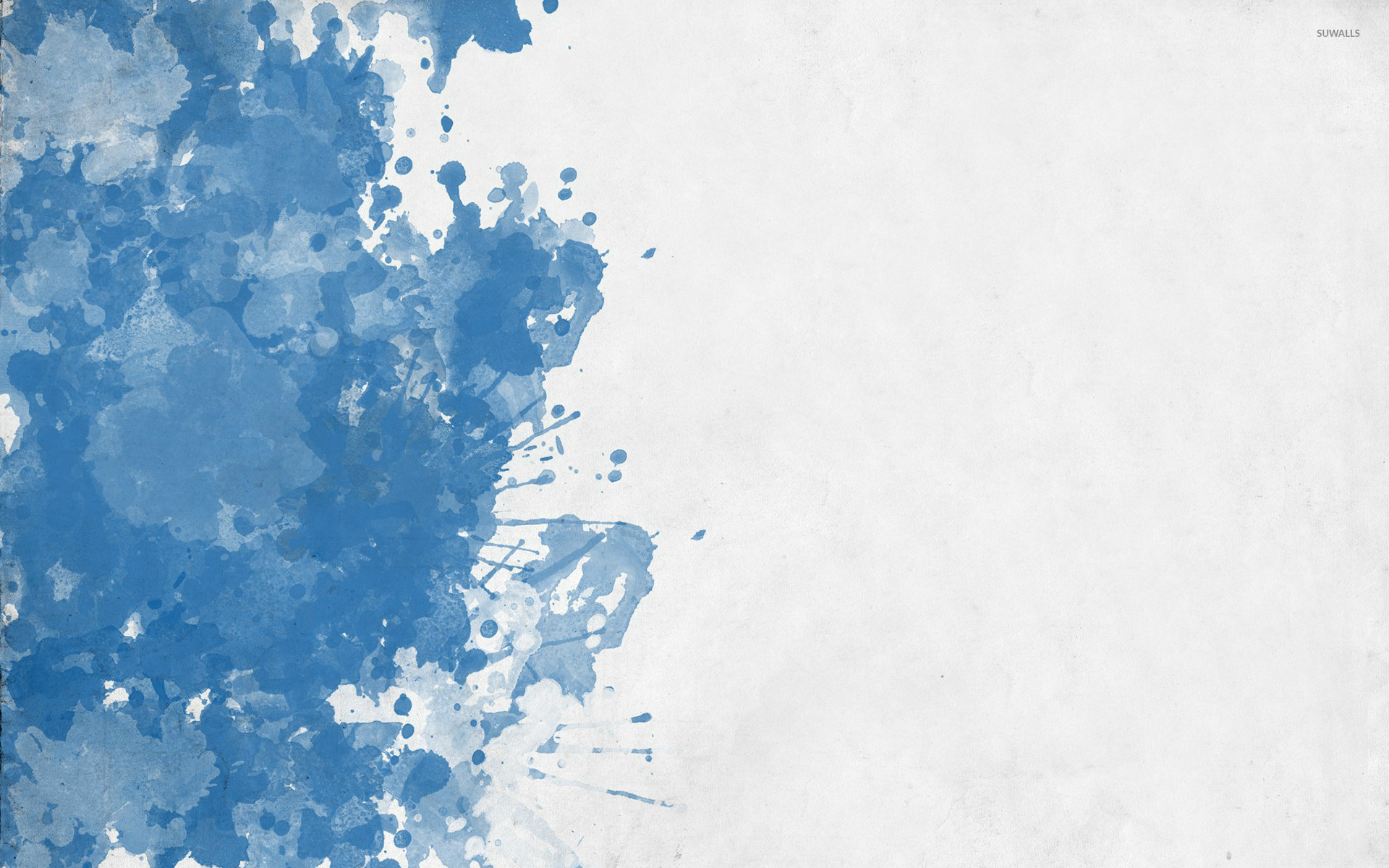 Blue splash wallpaper - Abstract wallpapers - #40777