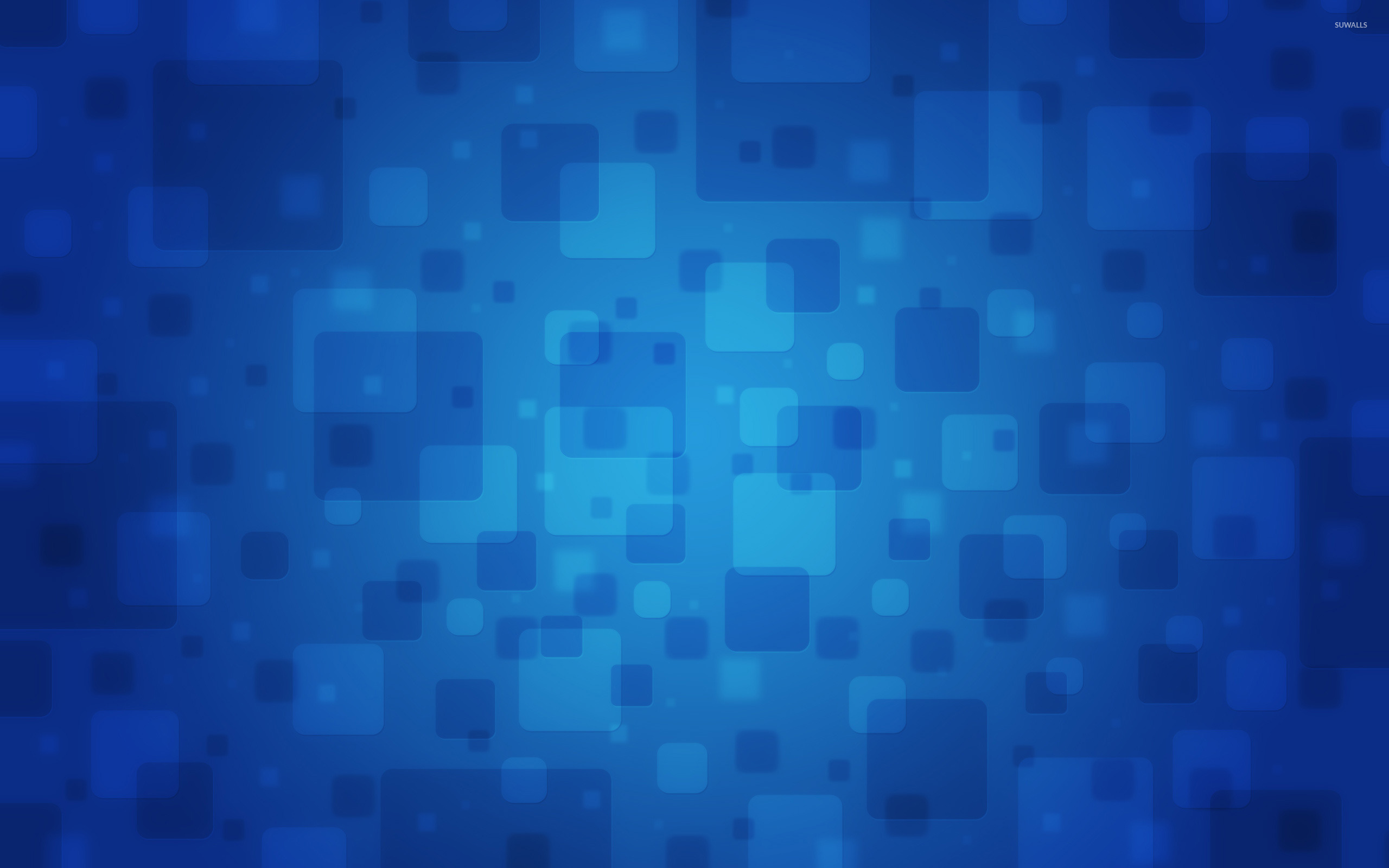 Blue Pattern Wallpaper