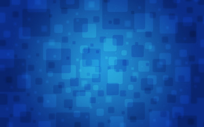 Blue square pattern wallpaper