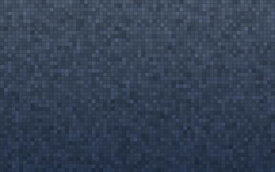 Blue squares wallpaper