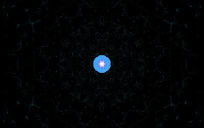 Blue star wallpaper